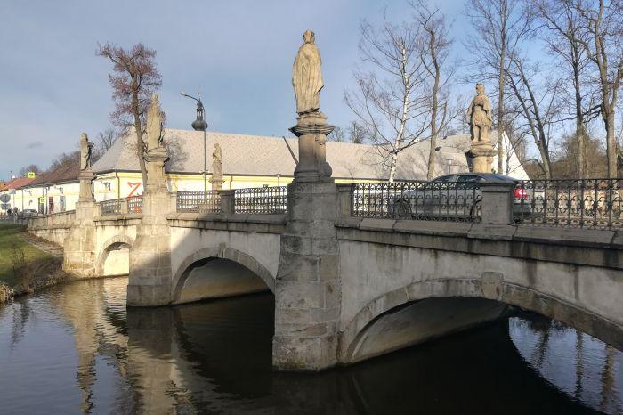 Barokní kamenný most  - 3968 x 2976